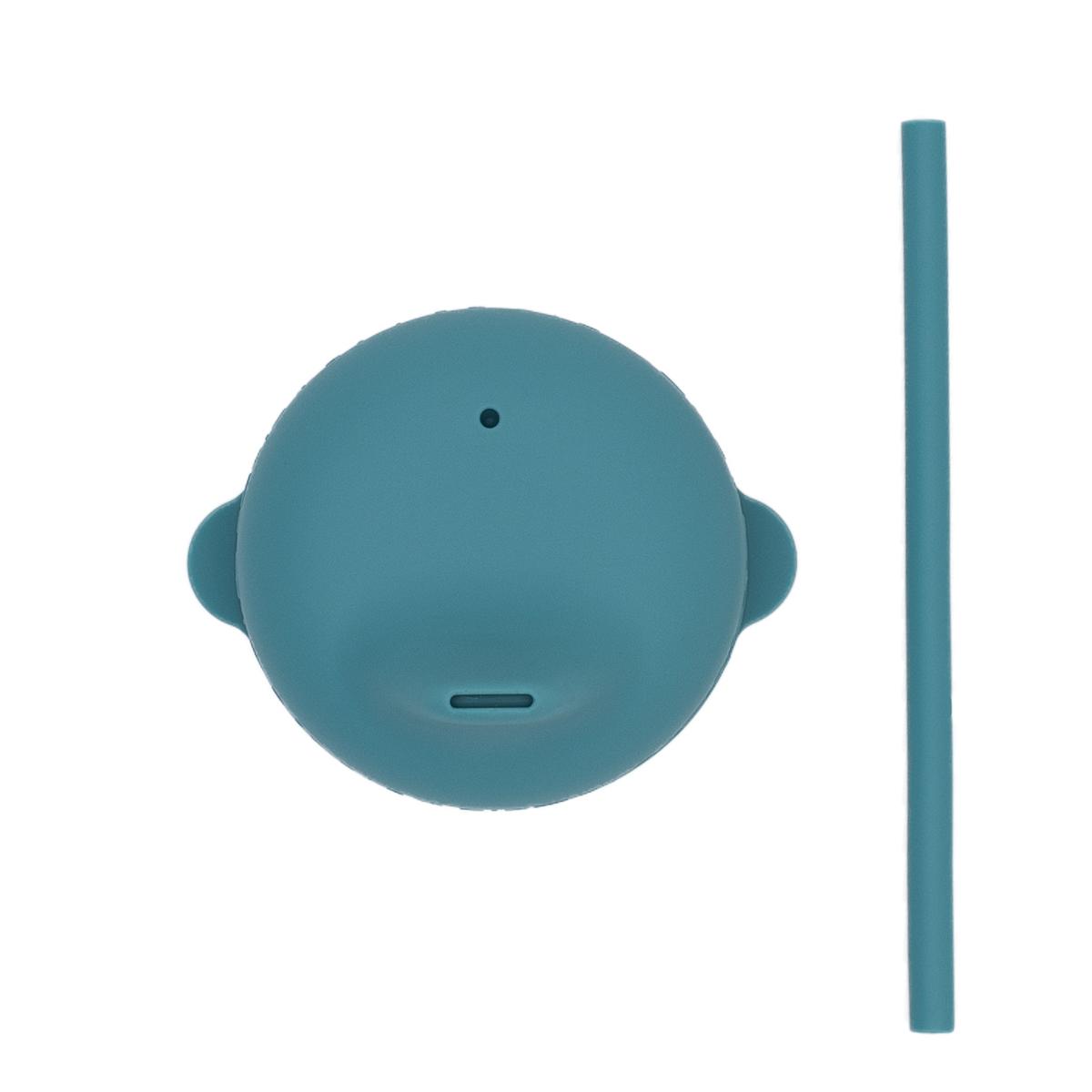 We Might Be Tiny Couvercle et mini paille Blue Dusk