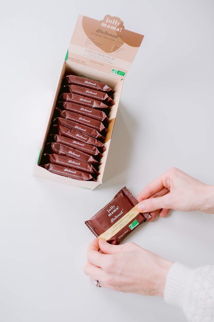 Jolly Mama Barre allaitement Cho-Chocolat