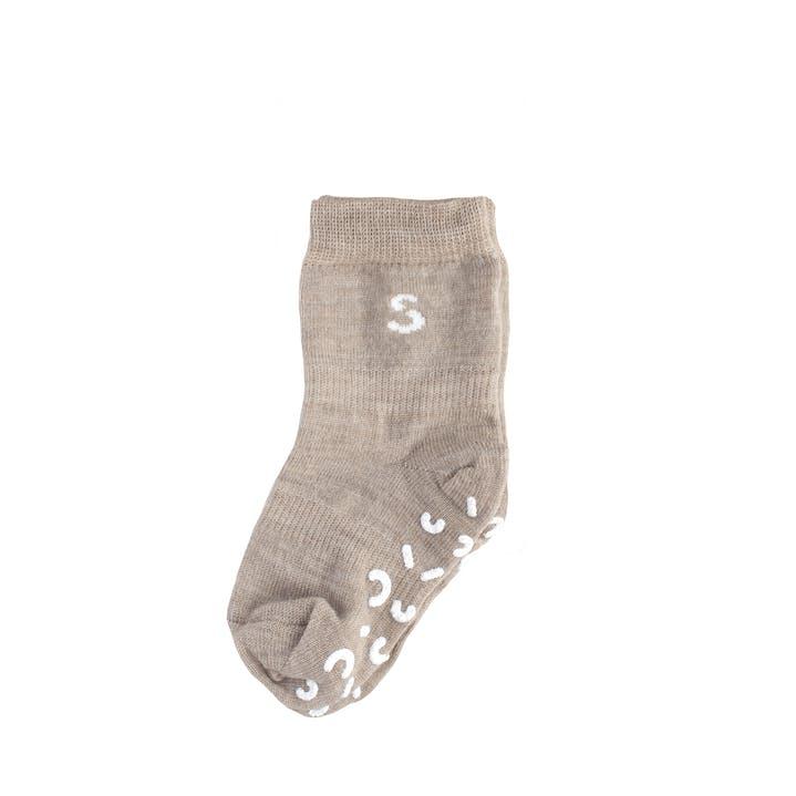 Stuckies chaussettes laine pebble