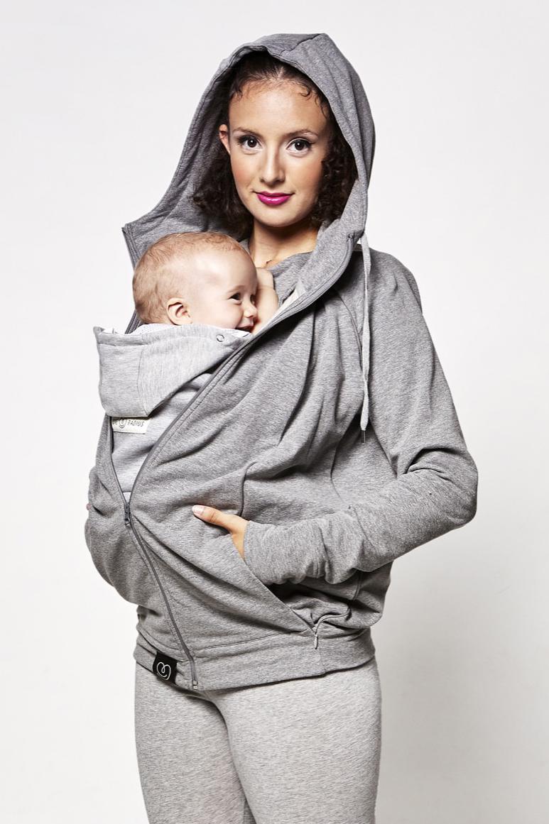 Love Radius Sweat du parent gris